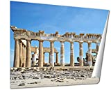 Ashley Giclee Acropolis Parthenon Columns In Athens Greece Wall art heavy thich museum grade artist paper, poster artwork ready to frame, 20x25 Print