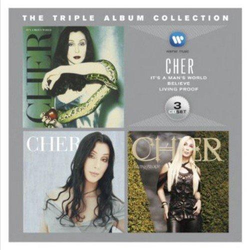 Cher Cd Album - Triple Album Collection