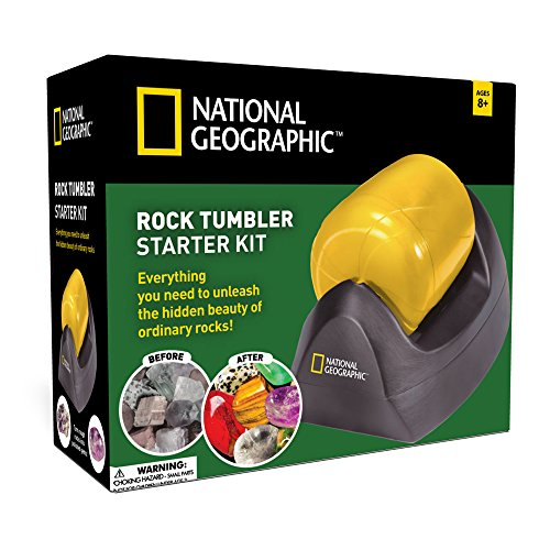 National Geographic Rock Tumbler Starter Kit (2016 Release)
