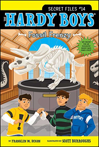 Fossil Frenzy (Hardy Boys: The Secret - Usa Fossil Sale Online