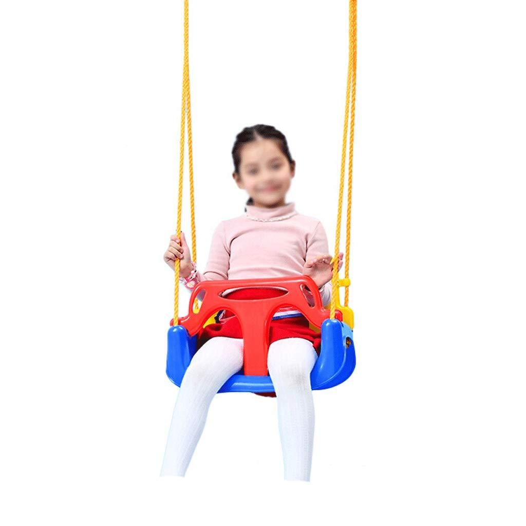 Babyschaukel Hochlehnig, Kunststoff Mit Verstellbarem Seil Robuste Und Langlebige Babyschaukel Sicherer Gurt Für Den Außenbereich Indoor Sicher Und Stabil Empfohlenes Mindestalter  6 Monate Alt