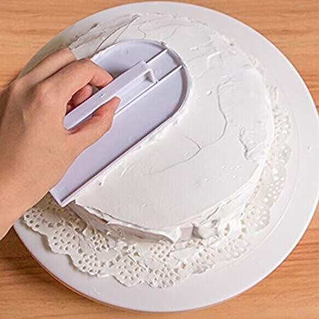 Amazon De Swiftswan Kunststoff Kuchen Creme Glatte Werkzeug Durable
