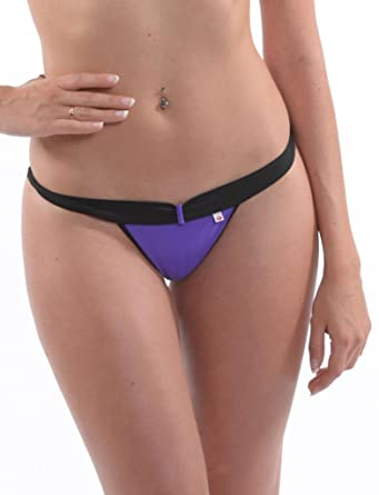 5807fd16e2 Designer Skin Six Bikini Briefs BWU 155 String Bond Purple – The Original -  Purple -