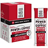 Collagen Protein Coffee Mix-in (12g) Grass-Fed Pure Protein - Keto & Paleo Friendly - NO Dairy, Whey, or Soy - Unsweetened - 14 Pack