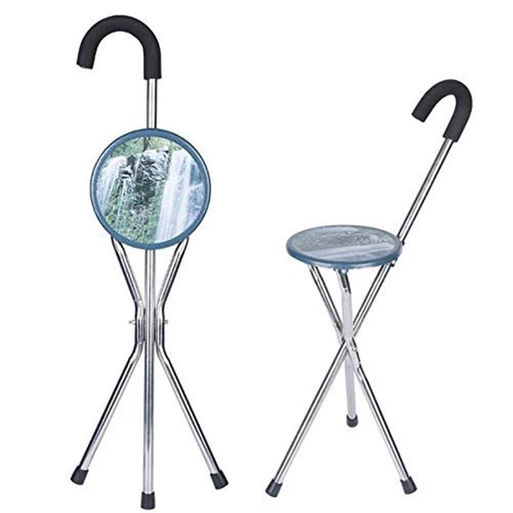 Amazon.com: TLANG WALKER - Caña plegable con luz de asiento ...