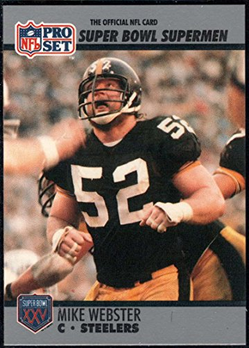 Football NFL 1990-91 Pro Set Super Bowl 160#73 Mike Webster NM-MT+ ()