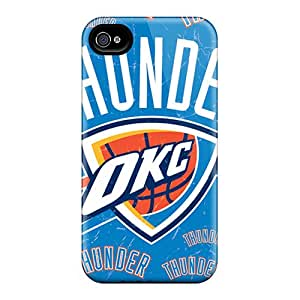 New Oklahoma City Thunder Tpu Skin Case Compatible With Iphone 4/4s
