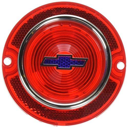- Trim Parts A2250G 1963 Chevy Full Size Blue Dot Bowtie Tail Light Lens