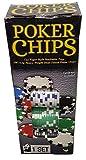 100 Ct. Poker Chips Set 11.5 gram (styles will vary)