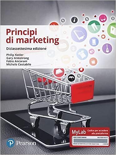 libro: Principi di marketing - Edizione 17