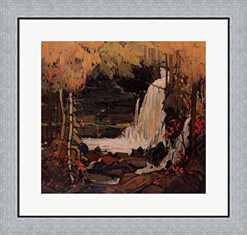 Woodland Waterfall by Tom Thomson Framed Art Print Wall Pict