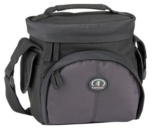 Tamrac Black Camcorder Bag (Tamrac 3340 Aero 40 Camera Bag (Black/Gray))