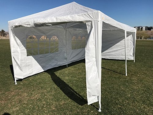 Palm Springs Outdoor 10 x 20 Wedding Party Tent Canopy with 4 Sidewalls by Palm Springs (Image #4)