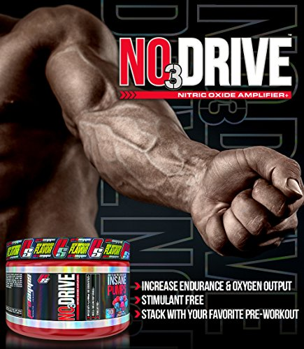 ProSupps No3 Drive Powder Nitric Oxide Amplifier, Unflavored, 108 Gram