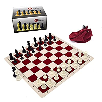 Wholesale Chess Silicone Chess Set (Silicone Board, Silicone Chess Pieces, Drawstring Bag)