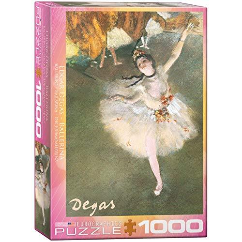 - EuroGraphics Ballerina by Degas 1000 Piece Puzzle