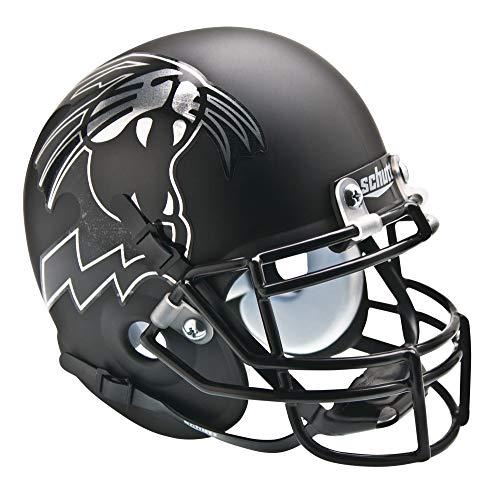 NCAA Northwestern Wildcats Collectible Alt 2 Mini Helmet, Matte Black