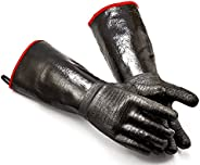 RAPICCA BBQ Gloves -Smoker, Grill, Cooking Barbecue Gloves, for Handling Heat Food Right on Your Fryer, Grill