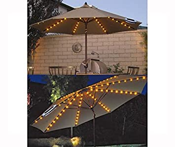 FiNeWaY UMBRELLA CHAIN LIGHT GARDEN PARASOL 72 LED SOLAR POWERED 8 STRUT  FAIRY LIGHTSFiNeWaY UMBRELLA CHAIN LIGHT GARDEN PARASOL 72 LED SOLAR POWERED  8
