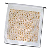 3dRose fl_174205_1 Image of Happy Pesach Matzoh Garden Flag, 12 by 18-Inch For Sale