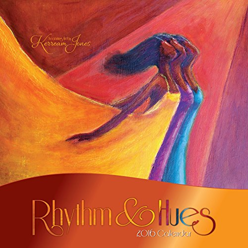 "Shades of Color 2016 Rhythm & Hues Calendar Featuring Art by Ker Ream Jones, 12"" x 12"" (16KJ)"