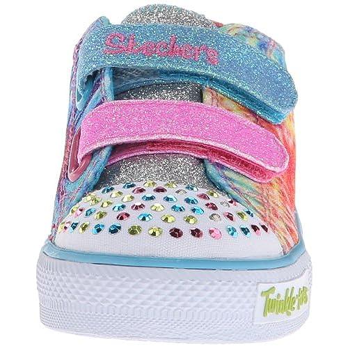 Skechers Kids 10383L Peace N' Love Light Up Sneaker (Little