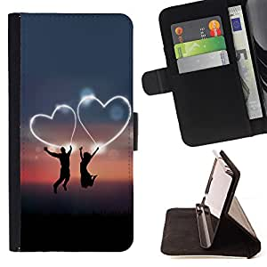 - Love Me/ Personalizada del estilo del dise???¡Ào de la PU Caso de encargo del cuero del tir????n del soporte d - Cao - For Samsung Galaxy S5 Mini, SM-G800