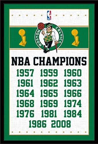 Trends International Wall Poster Boston Celtics Champions, 22.375 x 34