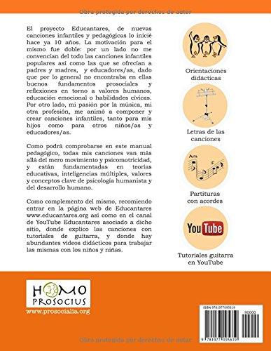 Educantares II: Nuevas canciones infantiles y pedagógicas: Amazon.es: César García-Rincón de Castro: Libros