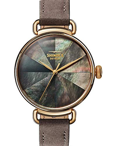 Shinola Canfield Kaleidoscope Leather Watch S0120161954