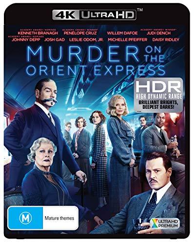 Murder on the Orient Express | 4K UHD Blu-ray / Blu-ray | 2017 Version | NON-USA Format | Region B Import - Australia (Best Version Of Murder On The Orient Express)