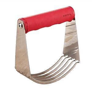 Norpro Grip-Ez Pastry Blender, Red