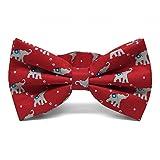 TieMart Republican Elephant Bow Tie