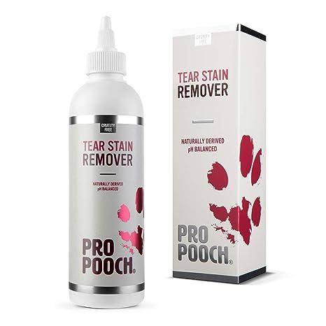 Pro Pooch Tear Stain Remover | Augenschleimentferner für Hunde | Entfernt sanft Augenschleimrückstände und verhindert Flecken