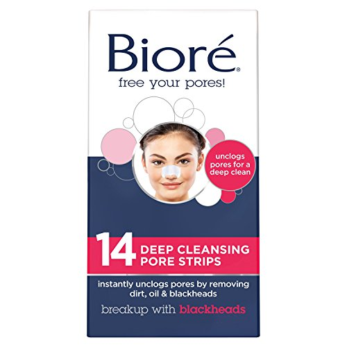 Biore Deep Cleansing Strips Count