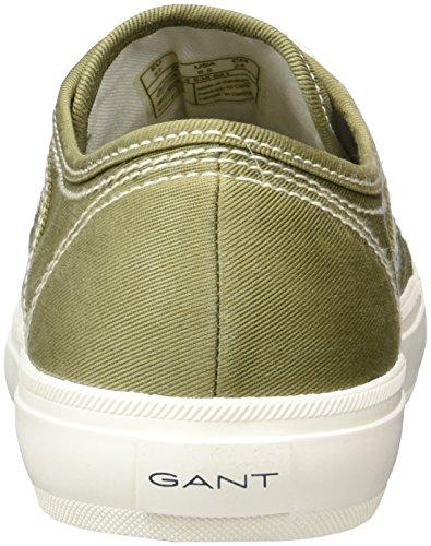 Gant Dame Zoe Sneaker Grün (armygrøn) IGFHm9A