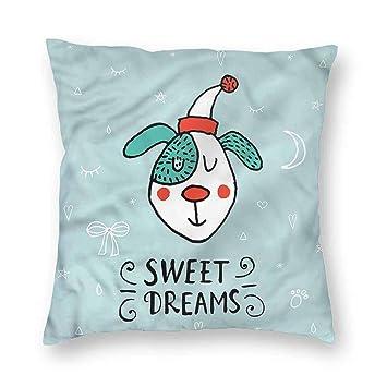 Amazon.com: HouseLook Sweet Dreams - Fundas de almohada ...