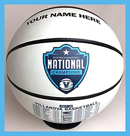 amazon com custom personalized villanova championship basketball w