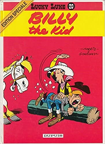 Lucky Luke, tome 20 : Billy the kid