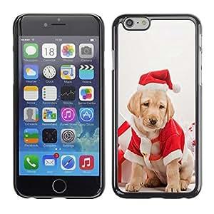 YOYO Slim PC / Aluminium Case Cover Armor Shell Portection //Christmas Holiday Cute Holiday Dog Puppy 1181 //Apple Iphone 6