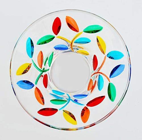 Bowl Glass Venetian - Venetian Glass Flowervine Bowl