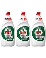 Fairy Plus Original Dishwashing Liquid Soap With Alternative Power To Bleach, 3 x 600 ml '
