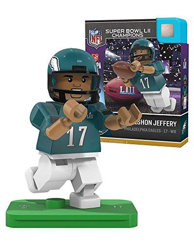 (OYO Sports Inc Alshon Jeffery OYO Philadelphia Eagles Super Bowl Champs Generation 4 G4 Minifigure)