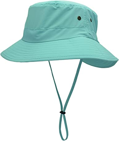 LLmoway Women Sun Hats Wide Brim Foldable Lightweight UV Protection Travel Hat