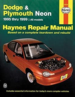 chrysler neon 1995 99 chilton total car care series manuals rh amazon com chrysler neon repair manual chrysler neon repair manual free download