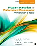 img - for Program Evaluation and Performance Measurement: An Introduction to Practice by James C. McDavid (2012-10-25) book / textbook / text book