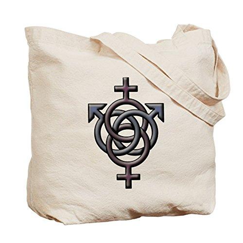 CafePress–Swingers símbolo Tote Bag–Natural gamuza de bolsa de lona bolsa, bolsa de la compra