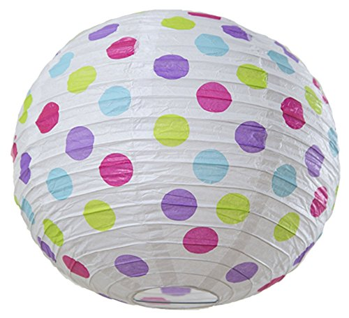 Bobee Paper Lanterns White Colorful product image