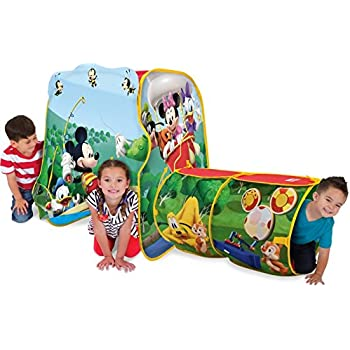Amazon Com Playhut Mickey Playville Tent Toys Amp Games