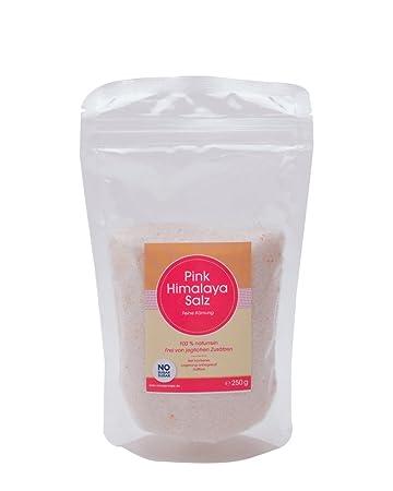 Pink Himalaya Salz Feine Körnung 250g Steinsalz Kristallsalz
